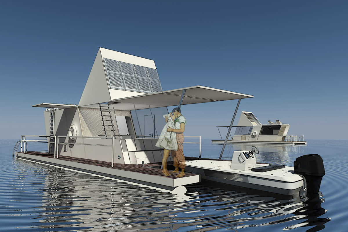 Mobile Houseboat