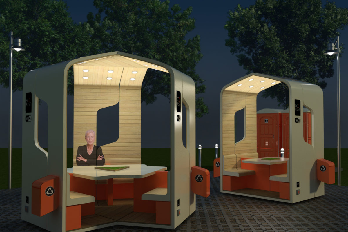 Mobile construction Ecorest