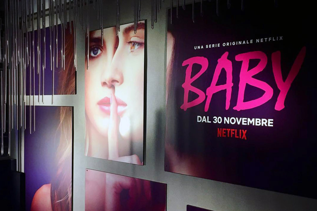 """Baby"" Netflix launch party"